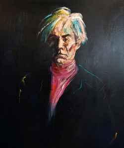 Portrett av Andy Warhol